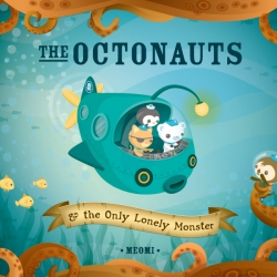 The newest edition to the Meomi family:  The Octonauts, an adventure book. Be sure to check out Meomi.com, where you can find great freebies, magnets, pins, and all sorts of Meomi counterculture.