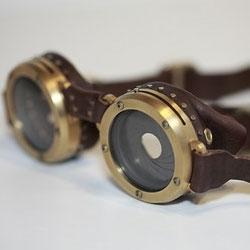 Titanium Goggles by Mike Brown.