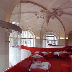 Desigboom visit '(Phantom) l'Opéra Restaurant' by Odile Decq in Paris.