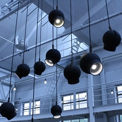 Renowned Swedish lighting manufacturer ateljé Lyktan have let our favourite Swedish studio, Form Us With Love, loose on a new pendent lamp design, and rather chic it is too.....