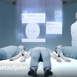"Reactvertising - hilarious satirical video of an ad agency that responds to everything in real time... ""super fucking fast content production""... ""you don't think, you just go."" by John St."