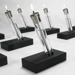 Contemporary oil lamps by Perhacs.