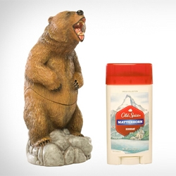 The Old Spice Bear Deodorant protector. That's right, it's a bear for keeping your deodorant.