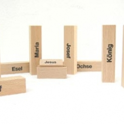 Ready for Christmas? Check out this nativity set by Berlin based Oliver Fabel.