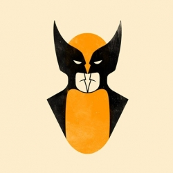 A new poster by Olly Moss. Wolverine and Batman in the same face! Check it out!