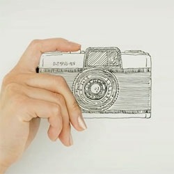 OLYMPUS PEN 50th Anniversary animation video.