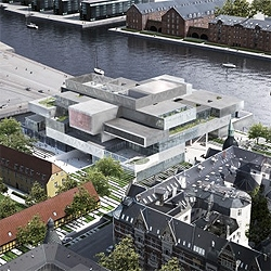 OMA unveiled a mixed use project in Copenhagen, Denmark, that will house the Danish Architecture Center.