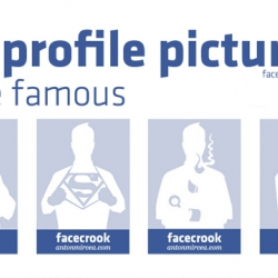 Awesome mug shots of the Facebook faceless no profile picture by designer Anton Mircea. Just Click the link and download them