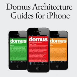 Domus magazine now has Architecture Guide Apps for iPhone! For Shanghai, Milan, New York, and Berlin