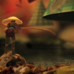 Onitsuka Tiger + Savants Collective short film  mixing 2d and 3d animation with practical photography and a handmade miniature set.