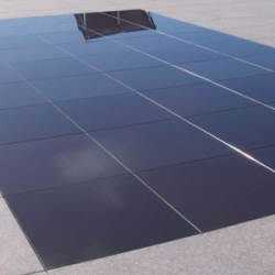 Onyx Solar is launching a new line of photovoltaic paving tiles made from ceramic and glass later this year.