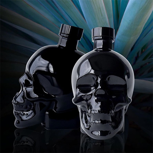 Crystal Head Vodka ONYX! Onyx is a unique new expression of Crystal Head Vodka, crafted from premium Blue Weber Agave and sourced from a single farm in Mexico.