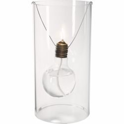 presenting the t.a.e 1879, a sculptural glass homage to thomas edison and the year he invented the electric light, from the folks at germany's opossum design.