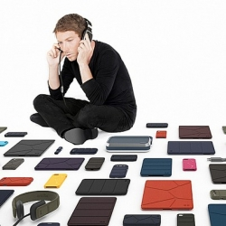 French designer Ora-ïto launches Ora-ïto Mobility, an ecosystem of complementary technology products for mobile devices.