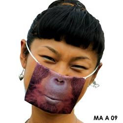 Printed sterile masks from Tokyo based Samira Boon