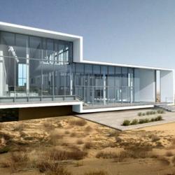 ordos villa by yazdani studio