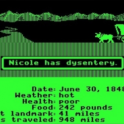 Oregon Trail comes to the iPhone!!