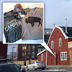 Tucked inside a red barn in Calgary, you'll find the new Livery Shop. All things Camp Brand Goods, Coutu Kitsch, and lots of other fun local goods. Also, loving how comfy and well cut their tees are. (Yay, Bison + Happy Campers!)