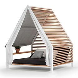 VETTAL Cottage by Patricia Urquiola - a lovely day bed structure with so many configuration options.
