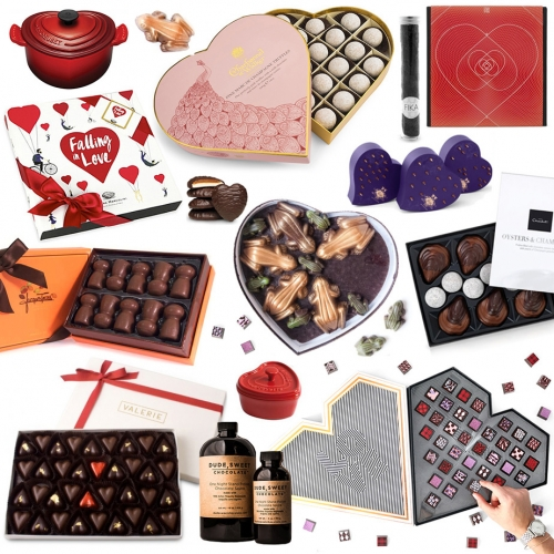 The Ultimate Valentine's Day Chocolate Gift Guide! Stunning packaging, beautiful chocolates, surprising combinations, and shapes (like frogs, lovebugs, oysters, champagne corks and more!)