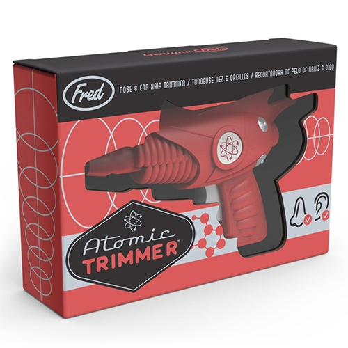 Fred & Friends Atomic Hair Trimmer (for nose/ear) - leave it to them to reimagine the mundane into a retro ray gun of sorts! Fun packaging too!