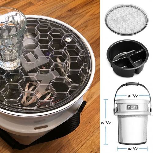 Unboxing the YETI Loadout Bucket with Lid + Caddy. It's more amazing than i imagined... from product and packaging down to the surprising design details!