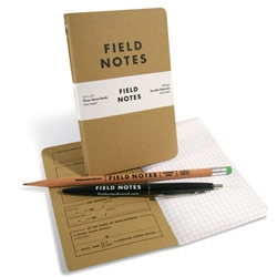 Field Notes ~ new notebook brand by Coudal Partners and Draplin Design Co.