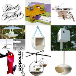 As i'm sure you've seen by now, i've been on a bit of a research project on bird feeders this morning, storing my finds on notcot.org ~ and the full roundup is now up ~ should we design our own for NOTConcept?