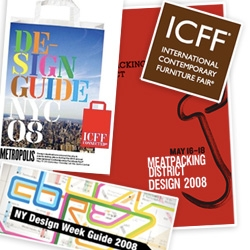 ICFF maddness ~ here's my crazy list of events, roundup of links to lists of more events, and i'll probably update this as i find more that interests me... also - if you go to one we miss, take pics and share!