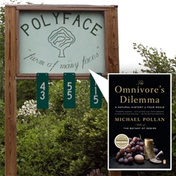Polyface Farm ~ once you hear how they run their fully sustainable farm, and you taste their chickens/pork/eggs/etc ~ i dare you to try and eat industrially farmed animals again...