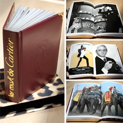 Les must de Cartier ~ Cartier sent over a gorgeous book that just opened my eyes to the decadent and playful times of Cartier Lifestyle in the 70s and 80s... wow.