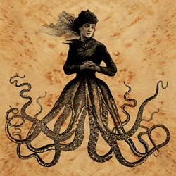 "Dan Hiller creates ""altered engravings"" of humans with tentacles... which can be found as prints, on wood, and even engraved on moleskines!"