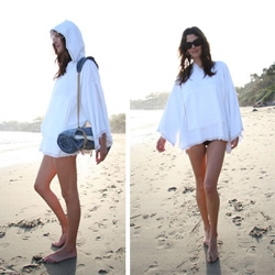 Surfmonk ~ eco-friendly bamboo terry robes, coverups, and towels (with adorable straps)... a super cozy line that's calling out to my inner beach bum.