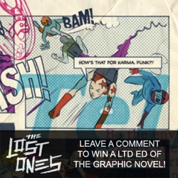 "NOTCOT Giveaway! Check out the new Zune Arts graphic novel ""the Lost Ones"" ~ and leave us a comment for a chance to win a limited edition copy."