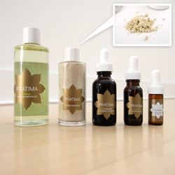 Latest packaging discovery ~ Pratima Ayurvedic Skincare ~ see the line and display ~ also the texture and process of the products are fascinating as well.