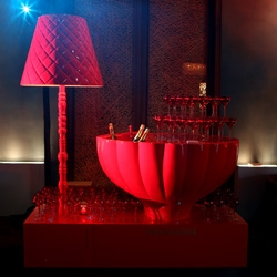 Jaime Hayon for Champagne Piper-Heidsieck - an incredible champagne bath/lamp piece that may be my new favorite piece by Jaime yet... wow.