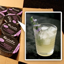 Bee Cool ~ a Liqurious Original by Anita ~ because we really are silly enough to take on a dare to invent a drink inspired by yogurt flavors.