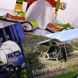 More Mobile - Portable Architecture for Today ~ take a peek inside this awesome new book filled with the architectural solutions for us nomads ~ shipping container building lovers will love this one!