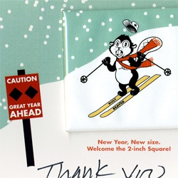 Our friends at Busy Beaver Button Co. sent over the cutest holiday card! With button of course...