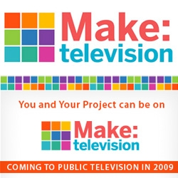 Congrats to our friends at Make on launching Make TV!!! It will even be premiering nationwide on Public Television stations this month!