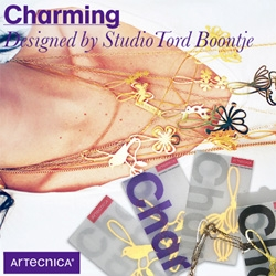 Tord Boontje Jewelry!!! New from Artecnica, the Charming collection ~ a beautiful set of gold and silver charms...