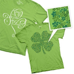 Haha Press has some adorable St. Paddy's Day tees!
