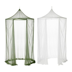 "SOLIG Hanging Mesh Tent/nets from the IKEA Summer 09 collection ~ playful and 59"" diameter!"