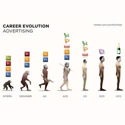 Career Evolution in the Ad world ~ so sad!