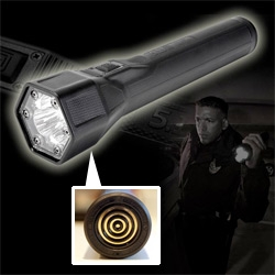 "511 Tactical Light For Life ~ SUPER bright 3 LED flash light with NO BATTERIES! and Recharges in 90 SECONDS! Also has strobe to ""signal others or disorient a perp"" ~ check out the video!"
