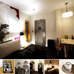 Ace Hotel NYC ~ just soft opened yesterday ~ i just arrived way too early this morning ~ and here's a first look into the really awesome room! More to come after a nap... the room is blowing my mind though!