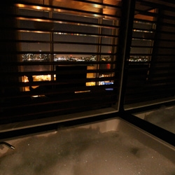 A view from my bathtub at the Standard New York ~ my bubbles can flow on to the couch as i stare at the incredible skyline... also take a peek at the other details of this playfully designed room...