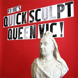 Quick Sculpt Queen Vic at the V&A happened this weekend, and i wish i could have been there. Check out some of the pieces.