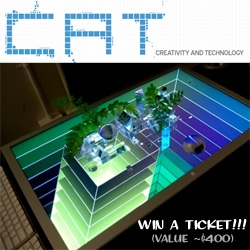 GIVEAWAY! Creativity and Technology (CaT) Conference tickets (~$400)!!! Come join me in NY on Weds (june 3) ~ the line up looks awesome, and the video of the opener is fun!