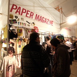Wow. Just got back from the hipsterfest that is Paper Magazines 24 hour pop up department store with favorites like citizen:citizen and A+R and tons more. Check out a pile of images from the second hour.